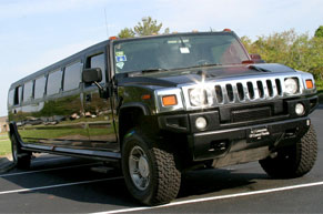 black hummer limo rental