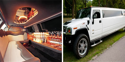 Hummer limo rentals in Erie