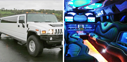 Hummer limo rentals in Jackson
