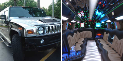 Hummer limo rentals in South Bend