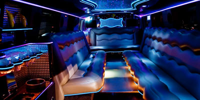 monster hummer interior